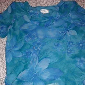 Blouse size 18 but small for 18
